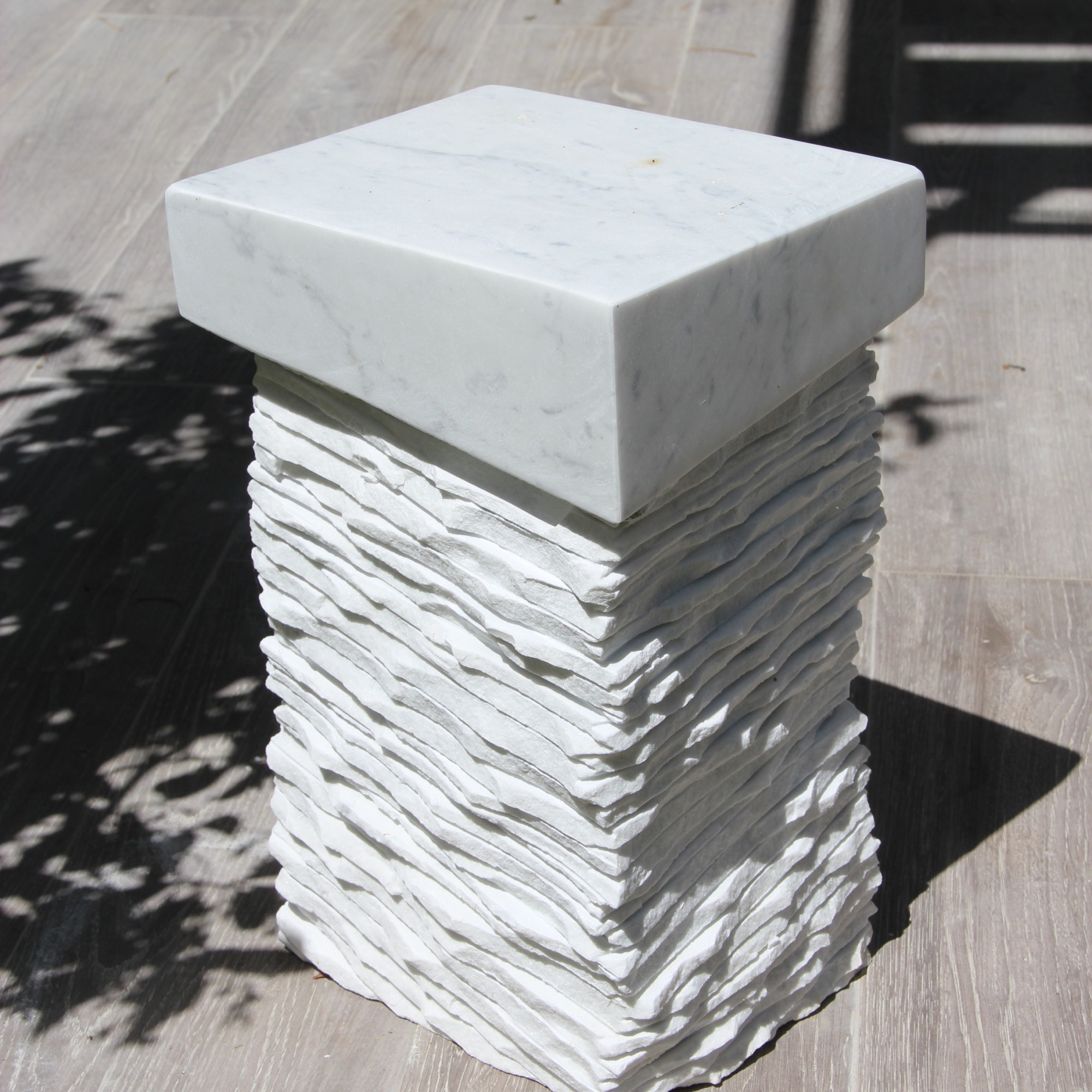 marble abstract sculpture