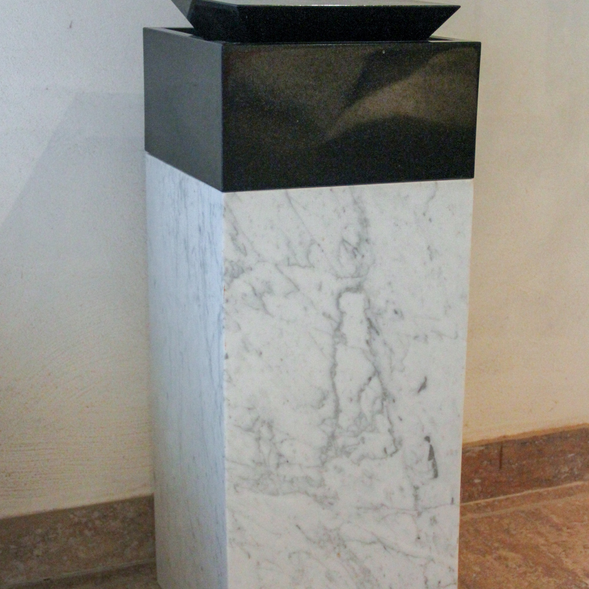 granite and marble abstract sculpture