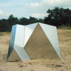 Okta, aluminium, 62x78x84 cm, 1990, NL