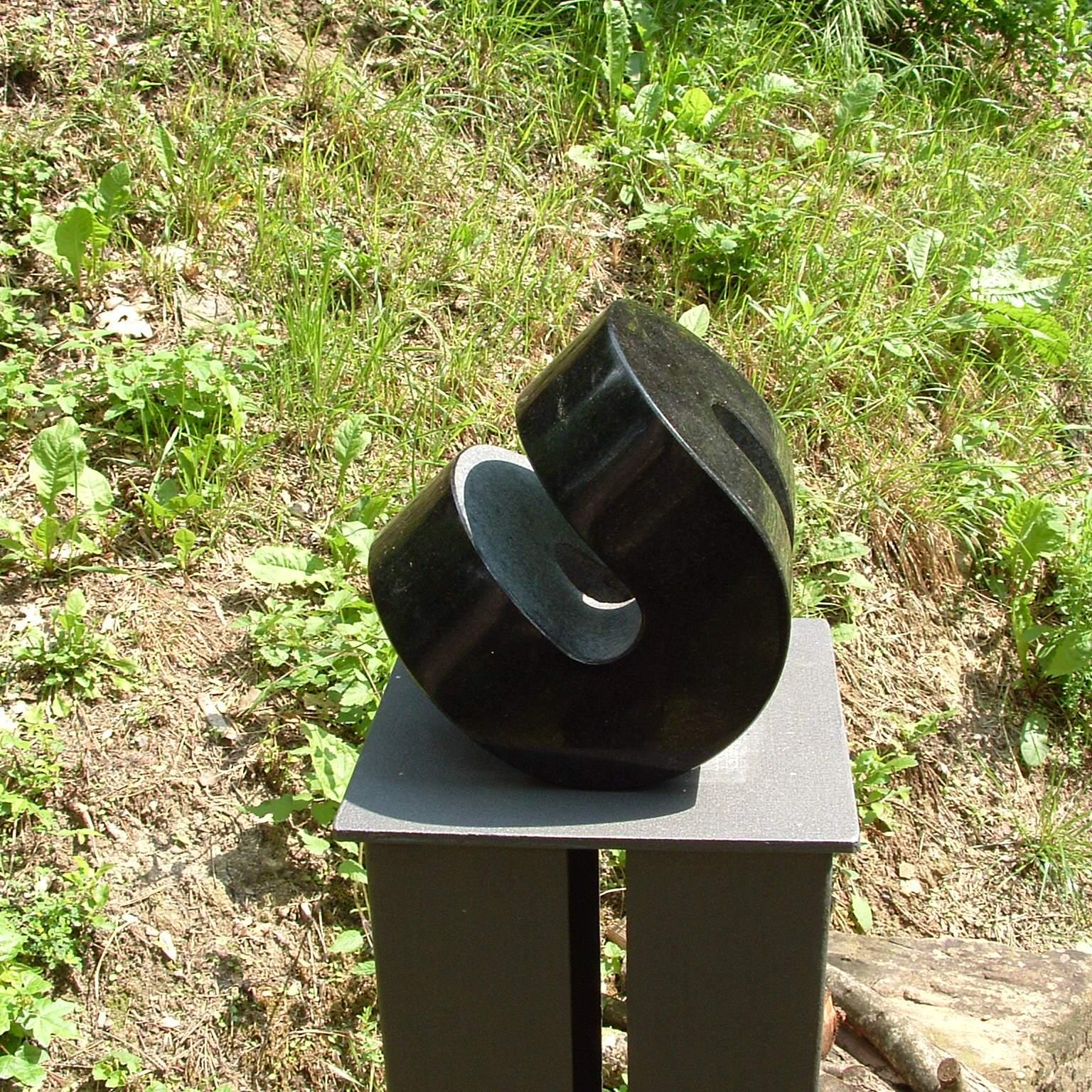 granite abstract sculpture