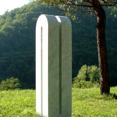 Infinito, 185x45x45 cm, 2006, NL private collection