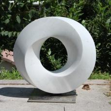 3D Moebius ring, 51x51x18 cm, 2019